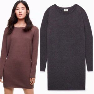 Aritzia | Wilfred Campanule Ribbed Sweater Dress